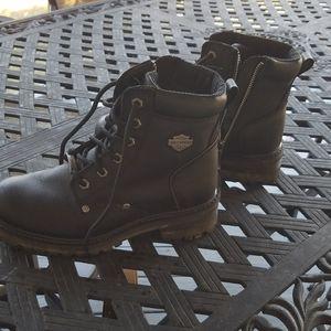 Harley-Davidson riding boots size 8